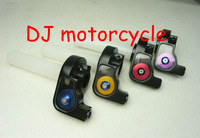 High performance 1/4 standard throttle with colorful tube dirt bike turn throttle wholesale  universal pit bike throttle control