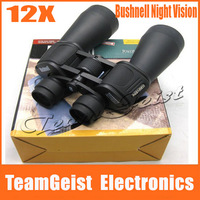 5pcs/lot Original Bushnnell 12X High magnification 60 x 90 Zoom Optical Binocular Telescope Night Vision goggles Camping Hunting