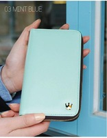 2014 mobile phone bag new crown long wallet for women J1502