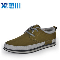New arrival spring popular men's trend leather male fashion male casual shoes skateboarding shoes 30251