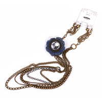 DY463 Vintage Choker Necklace ,Valentine's Gift Sweater Long Jewelry Set For Women,2013 New Arrival