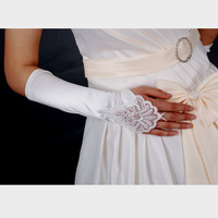 Bridal gloves wedding gloves fingerless lace gloves the bride wedding gloves white lace gloves