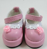 Free shipping 1/6 high quality rose mini bjd doll shoes