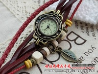 Fashionable retro Korean female table lady watch fashion watch watch decorative hand-woven bracelet watch female students