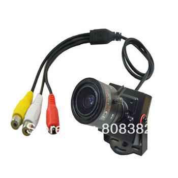 HD 700TVL effio-e SONY CCD 960H 2.8-12mm Manual Focus IRIS Zoom Lens Mini CCTV Security Surveillance Tiny Audio Mic Camera