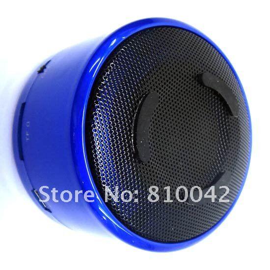 Portable Mini Speaker+FM Radio+Dot-matrix Screen+Alarm Clock+Auto Shutdown Time Setting+TF Card Music Player Free Shipping(China (Mainland))