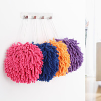 Free shipping Chenille square hand towel