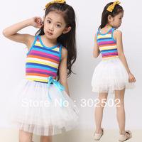 Children's clothing one-piece dress children's clothing hot-selling 2013 female child one-piece dress princess dress