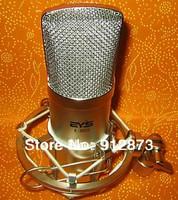 EYS Handheld Capacitance Condenser Recording Microphone With Shock Mount Free Shipping Music Recording Network KTV Singing MIC