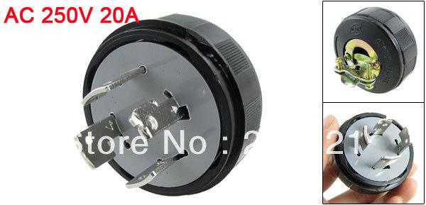 20a 250v Plug ac 250v 20a 4 Pin Locking
