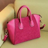 2013 Fashion bags  women handbag spring nubuck leather bags women messenger bag  free shipping