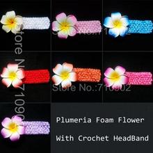 popular flower hair elastic