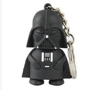 Free Shipping Star War Dark Darth Vader USB Flash Drive 1GB 2GB 4GB 8GB 16GB 32GB Memory stick Pen Drive