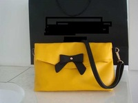 Free Shipping 2013 fashion women lady bag Cute Bowknot handbag shoulder messenger Bag f374