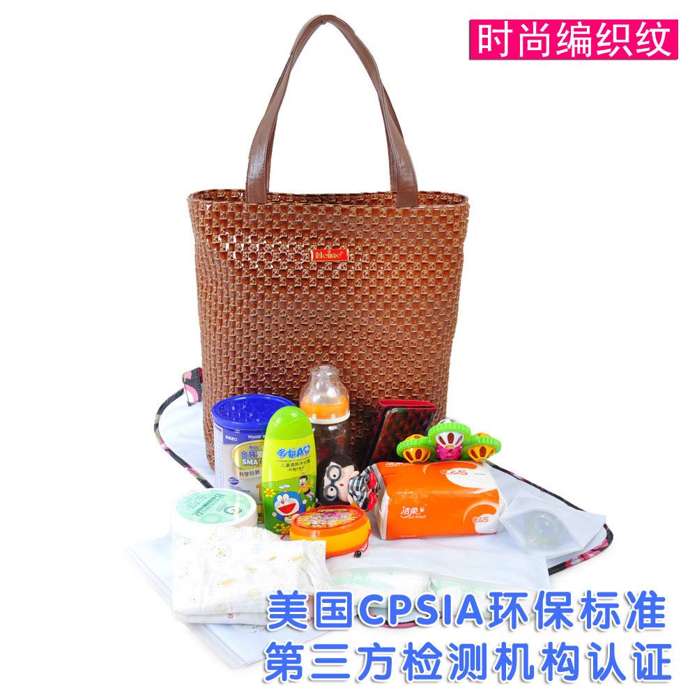 Www.qfhenn.com heine baby products eco-friendly multifunctional bag mother bag nappy bag(China (Mainland))