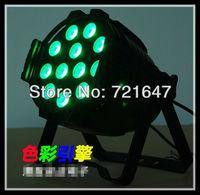 Free shipping pro stage led light LED WASH LIGHT RGBA 4 IN 1 PAR cannon led Surface light 4pcs/lot
