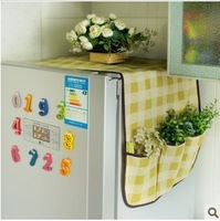 FREE SHIPPING NEW DESIGN Japan's colorful hot sweet refrigerator dust cover + receive bag+table bag
