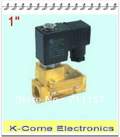 """Direct Drive 1"""" Solenoid Valve Model PU220-08A Brass Solenoid Valve Control Valve Water Air Oil"""