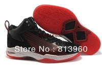 2013 EMS Free Shipping Wholesale Famous Trainers Fly 23 Men Basketball Shoes Black  Sport Red