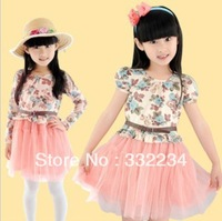 Free shipping 2014 new princess gauze tutu Children Dress,Retail and wholesale