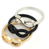 wholesale girls simple ring one direction infinity ring very cheap ring 60 PCS/LOT FREE SHIPPING