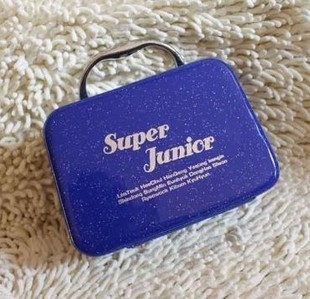 Super Junior 2013 High Quality Stylish Cosmetics Case, Beauty Organizer  Makeup Box Factory Supply,Cute Cosmetic Storage Bag