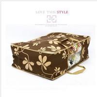 NEW Non-woven fabric quilt receive bag manufacturer wholesale five grass clairvoyant multi-function large quilt clothes bag