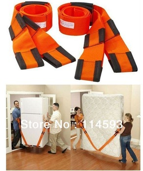 100Packs=200Pcs  2pcs/Pack 272M*5CM Moving Straps Forearm Delivery Transport Rope Belt Home Carry Furnishings Easier