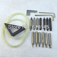 the whole set cutters with spare part for vertical key cutting machine.locksmith tools part.key cutter.locksmith cutter.