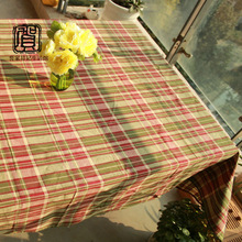 popular striped cotton tablecloth