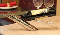 Novelty! Free Shipping creative Gravity-defying Magic Wine Bottle Holder /Wine Rack