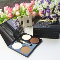 Makeup four-color trimming powder shadow powder hihglights powder face-lift