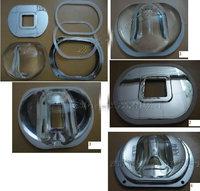 waterproof 107MM * 87MM ring  the optical glass Bump LED lens