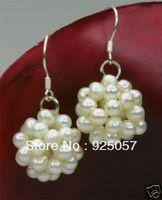 beautiful white pearl dangle Earring   Fashion jewelry