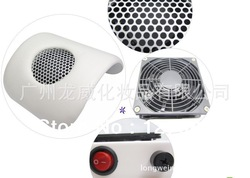 Mini Arc-shape white color Nail dust suction collector vacuum cleaner for Manicure and Pedicure(China (Mainland))