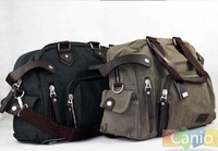 free shipping Canvas man bag messenger bag travel bag shoulder bag