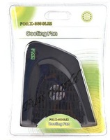free shipping / Heat Sink Side Cooling Fan Cooler Blower for Xbox 360 Slim Console - Black