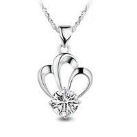 Gift aixia pendant female silver jewelry 925 pure silver necklace