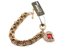 Min order is $10 Vintage Old Red Wings Bracelet  free shipping wholesale lots