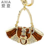 Luxury women's handbag keychain car hangings accessories women's handbag gift bag buckle