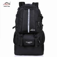 Large capacity double-shoulder travel backpack travel backpack hiking travel bag backpack mountaineering bag waterproof 50l
