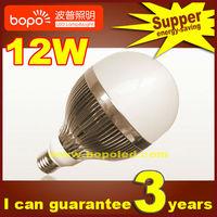 Free shipping Hottest BOPO12W E27 B22 85~265V Ultra bright LED bulb aluminum 110V 220V LED lamp high low power led light