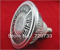New Design With Small Lens 7W High Power LED Par Spot Light 7x1W LED Bulb Lamp E27 E26 B22 Sockets AC85-265V DC12V DC24V