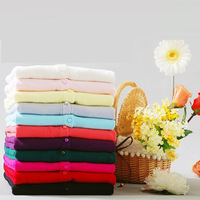 Multi Color Cashmere Cardigan Wholesale Real Shot Women's New Long-Sleeved Sweater Hot Products