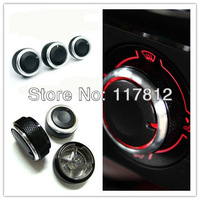 FREE SHIPPING VW POLO ALUMINUM ALLOY AIR CONDITION KNOB SWITCH CONTROL