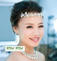 Free shipping!Handmade bridal hair accessories wedding hair ornament headwear gift SW115