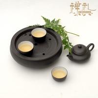 Pure purple kung fu tea set travel tea set portable yixing tea