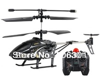 Free shipping + 3.5 Channel Mini RC Helicopter with Gyroscope, Replaceable Yellow Nose, LED Light
