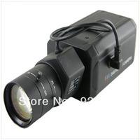HD 700TVL Effio-E Sony CCD CCTV Security Home surveillance Box varifocal Camera  D-WDR OSD Menu HLC 6-60mm Auto IRIS CS Lens