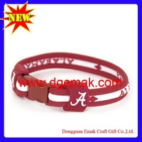 2013 New Design 8.5 Alabama Crimson Tide 8.5 Titanium Bracelet